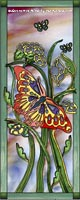 Butterfly Stained Glass Window Film